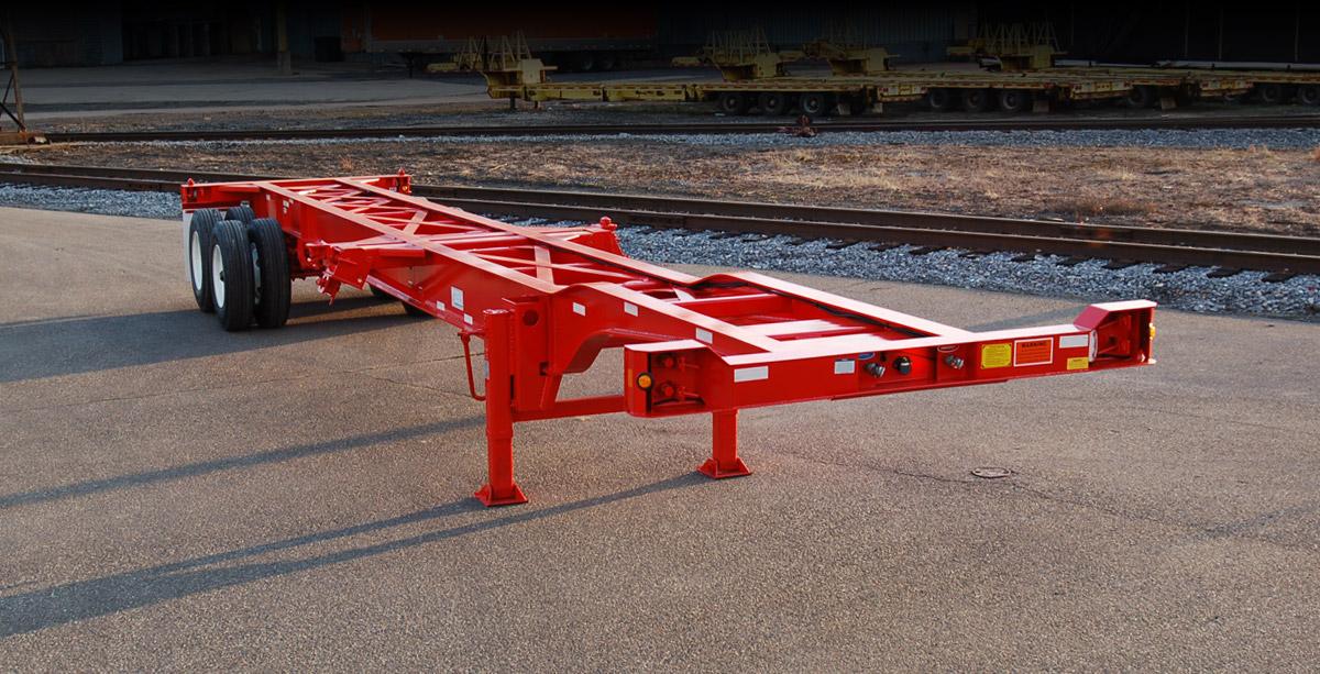 intermodal trailer chassis diagram