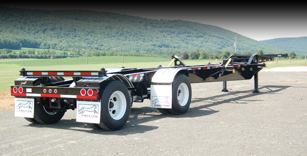 Cheetah Chassis | Custom Container Chassis & Trailers