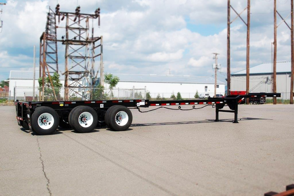 20'-40'-45' Triaxle Gooseneck Container Chassis