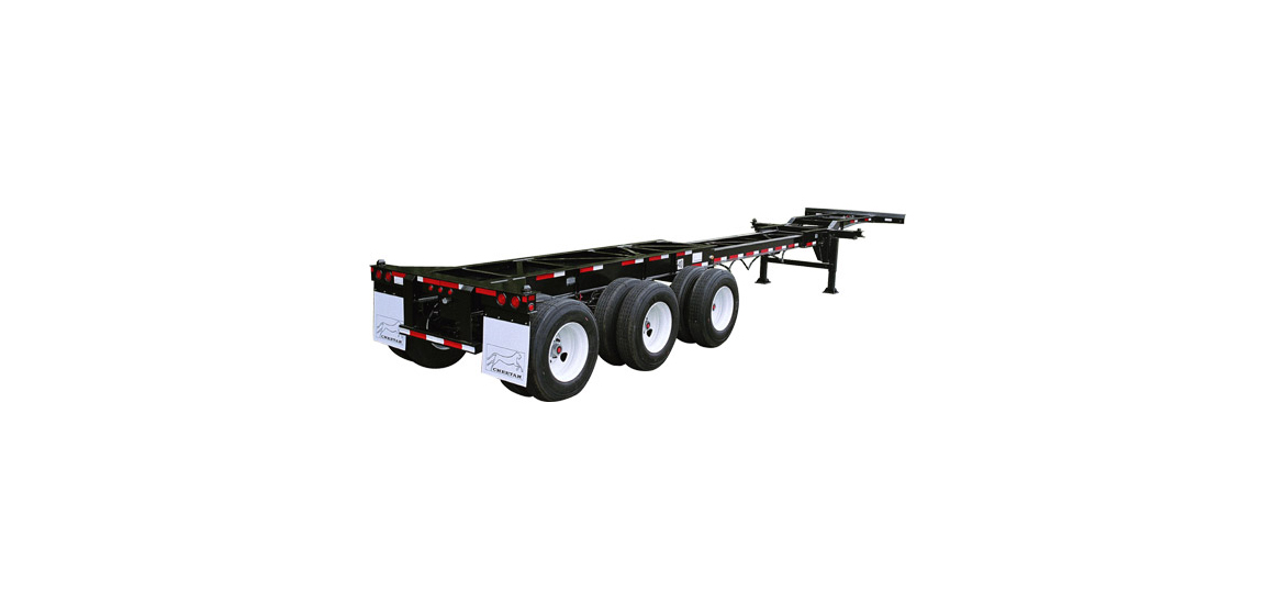 20-40 Tri-Axle City Combo Chassis