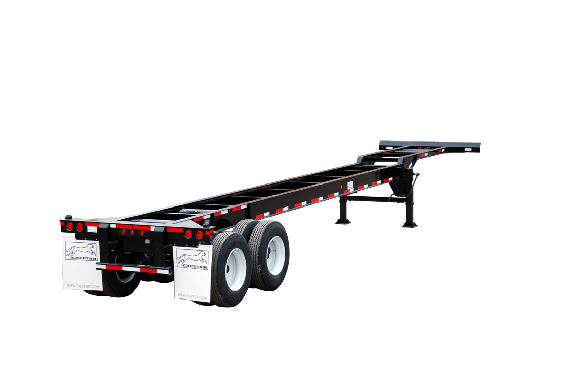 40' Tandem Gooseneck Container Chassis (1)