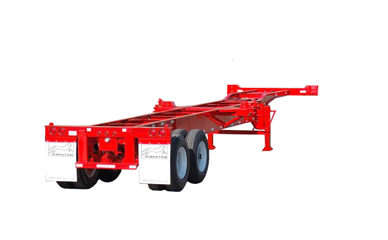 40' Heavy-Duty 8-Pin 2-Axle Chassis