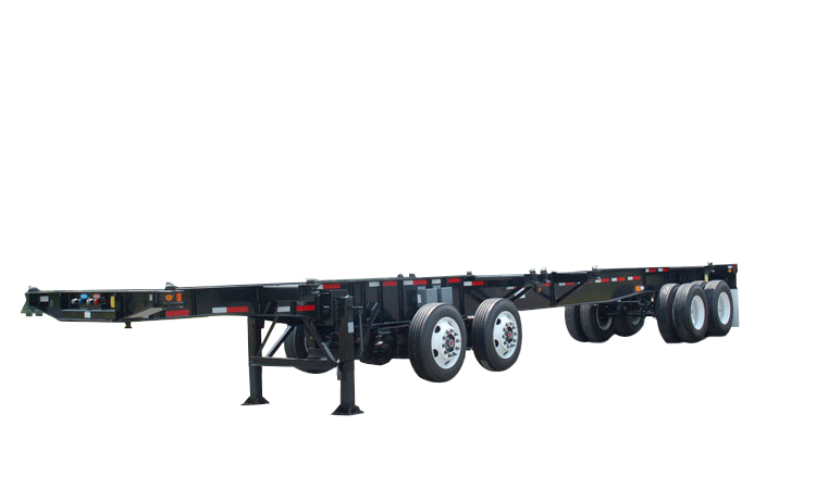43.5' Straight Frame 4-Axle Chassis